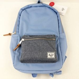 Hershel Supply Settlement Mid Baby Blue Backpack